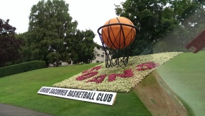 Apparently, the folks in Grand Saconnex are very proud of their basketball tradition