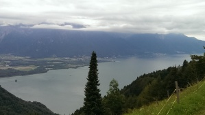 Beautiful view of Lac Leman