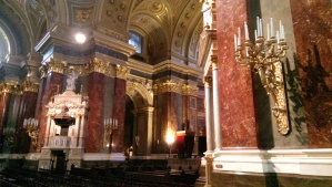 The Saint Stephen's Basilica took 50 years  to build and was completed in 1906