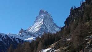 The Matterhorn, from Zermatt