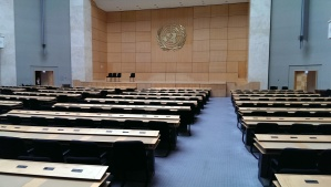 UN General Assembly conference room