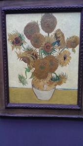 Van Gogh's Daiseys in the National Art Gallery