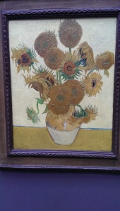 Van Gogh's Daiseys in the National Art Gallery