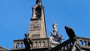 Gargoyles at Notre Dame Clermont