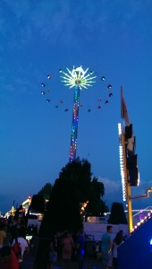 Swing ride high above Geneva!