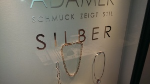 Silber means Silver