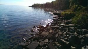 Nort shore shoreline