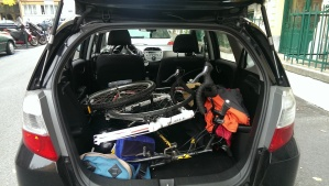 Bikes in our car