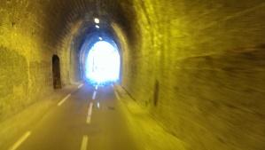 Bikeway tunnel
