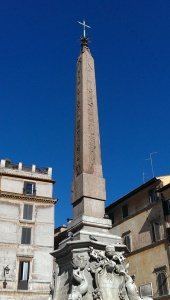 Obelisk with cross