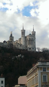 Cathedral from below