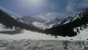 Lichtenstein mountain view