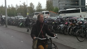 900,000 bikes in Amsterdam