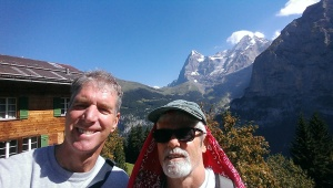 Greg and me in Lauterbrunnen