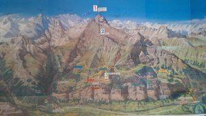 Map of Lauterbrunnen trails