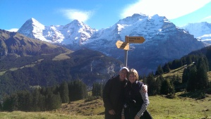 Cliff and Ellen in Lauterbrunnen