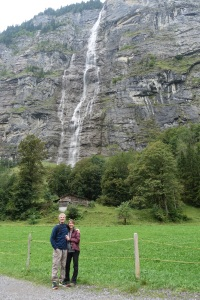 Ken and Jane in Lauterbrunnen