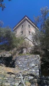 Lookout watchtower near Portofino