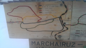 Marchairuz ski map