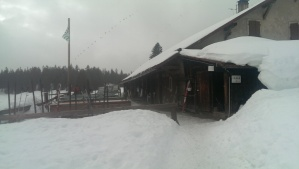 Ski trail restaurant
