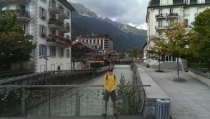 Greg in Chamonix