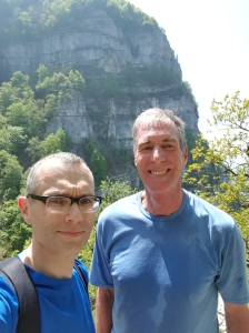 Mikolaj and me on the Saleve