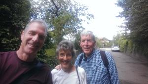 Older Saleve hiker friends